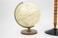 Lot of 3 Vintage Globes