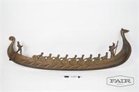 Viking Long Ship Wall Decoration