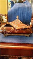 Decorative Painted Box with Lid