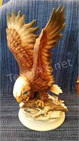 Royal Crown Eagle Figurine