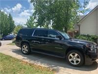 2016 Black SUV Chevrolet Suburban