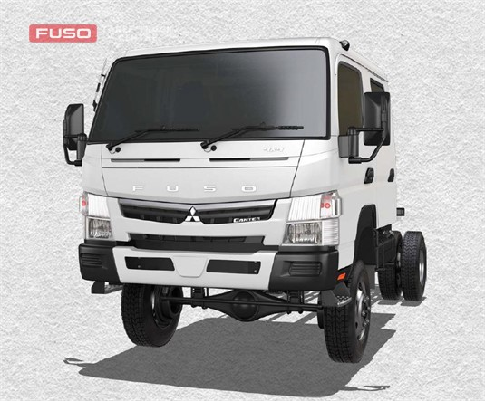 Fuso Canter 4x4 FG Wide Crew Cab MWB 5 Sp. Man