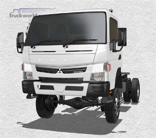 Fuso Canter 4x4 FG Wide Cab SWB 5 Sp. MAN