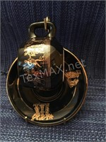 Handmade 24K Gold Accent Plate & Cup