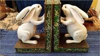 Bunny Book Ends