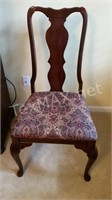 Padded Straight Back Chair