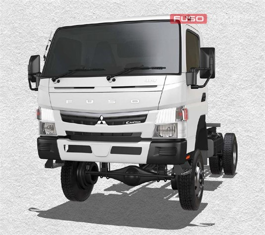 Fuso Canter 4x4 FG Wide Cab MWB 5 Sp. MAN