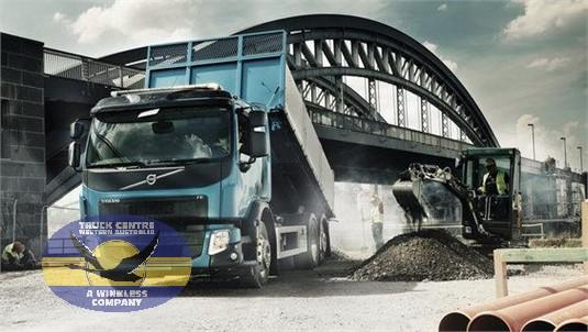 Volvo FE 4x2 Platform Rear Air Suspension