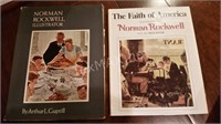 2 NOrman Rockwell Books