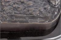 "Art Remington ""Bronco Buster"" Bronze Sculpture"