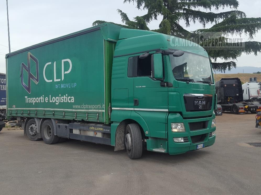 MAN TGX26.480XLX used 2013 Lazio