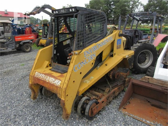 Lot # 4110 - ASV RC-100 COMPACT TRACK LOADER ** AS IS ** For Sale In  Shippensburg, Pennsylvania
