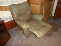 Green Leather Recliner