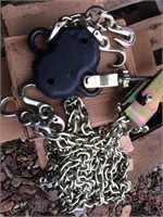 New Peck and Hale 24 ft Grade 80 Military Chain