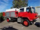 Isuzu FTS Dual Cab Fire Tanker Fire Truck