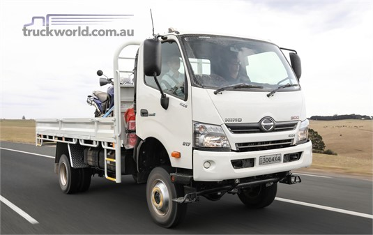 2019 Hino 300 Series 817 4x4 4x4|Table / Tray Top