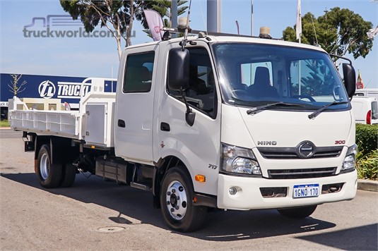 2016 Hino 300 Series 717 Crew - Trucks for Sale