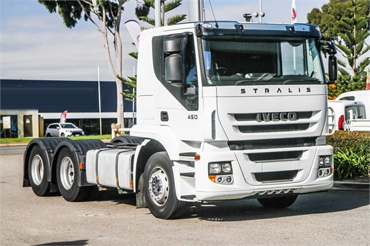 2012 Iveco Stralis 360 - Trucks for Sale