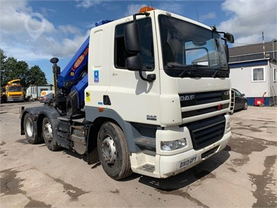 Used DAF CF85 460 Trucks for sale in the United Kingdom - 38