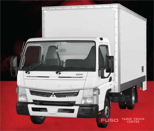 Fuso Canter 4x2 515 Built Ready Wide Cab FRP Pan MWB 6 sp. DCT