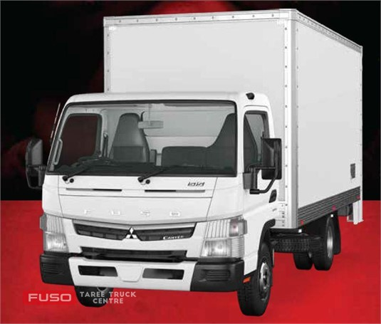 Fuso Canter 4x2 515 Built Ready Wide Cab Honeycomb Pan MWB 6 Sp. DCT