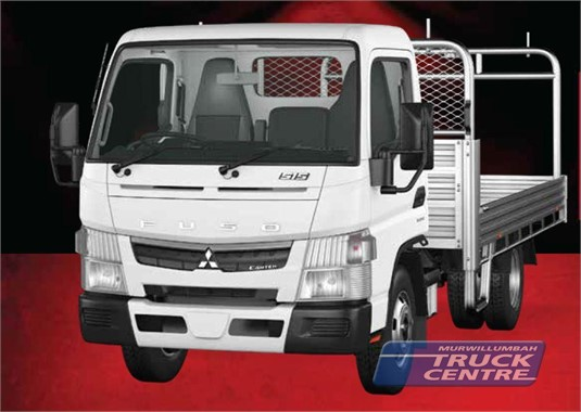 Fuso Canter 4x2 515 Built Ready City Cab Alloy Tray 6 Sp. DCT