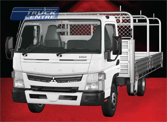 Fuso Canter 4x2 515 Built Ready Wide Cab Alloy Tray 6 Sp. DCT