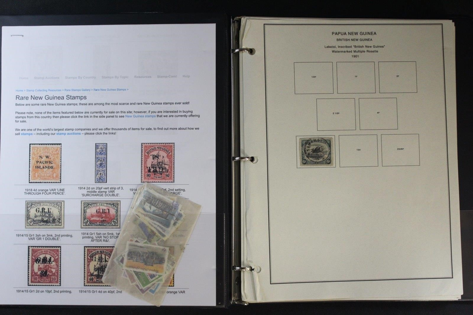 Papua New Guinea Collection 500+/- Stamps | Emerald Ventures