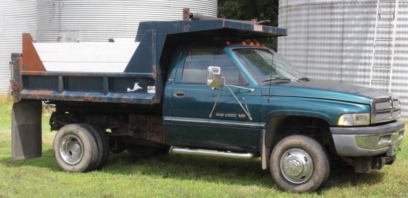1996 dodge ram 3500 v10 1 ton dump truck 4 wd auction report 1996 dodge ram 3500 v10 1 ton dump