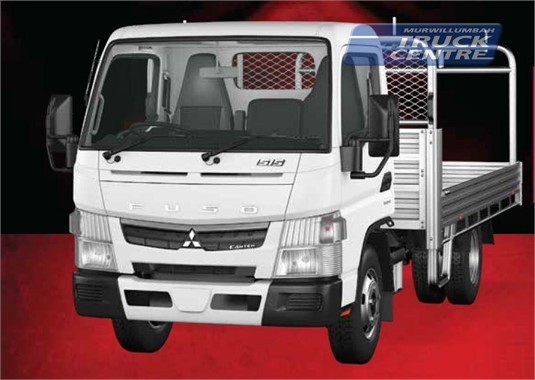Fuso Canter 4x2 515 Built Ready Wide Cab Alloy Tray MWB 5 Sp. Manual