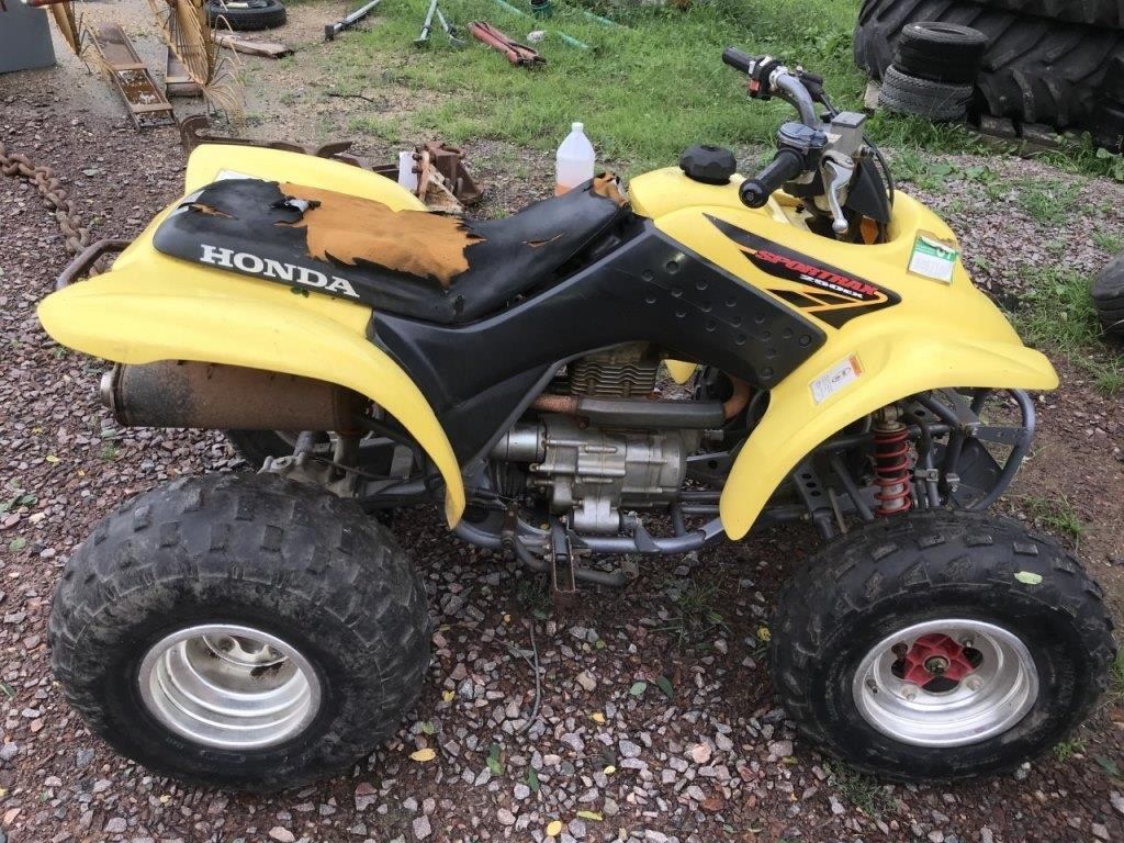 Honda Four Wheeler 250 And Drives Per Seller Abj Sales Auctions