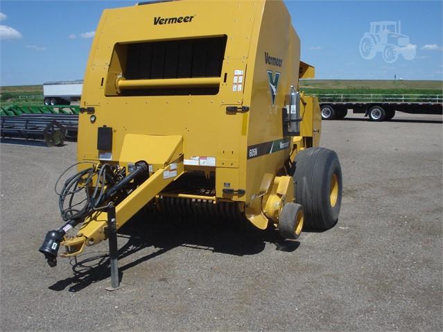 2015 VERMEER 605N For Sale In Oakley, Kansas | www