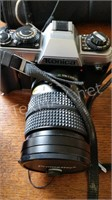 Konica FT-1 with Lens, Flash & Case