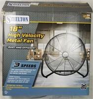 """Steelton 18"""" High Velocity Metal Fan"""