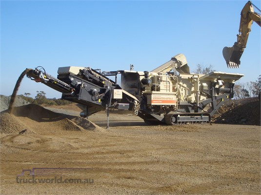 2009 Metso LT1110S - Heavy Machinery for Sale