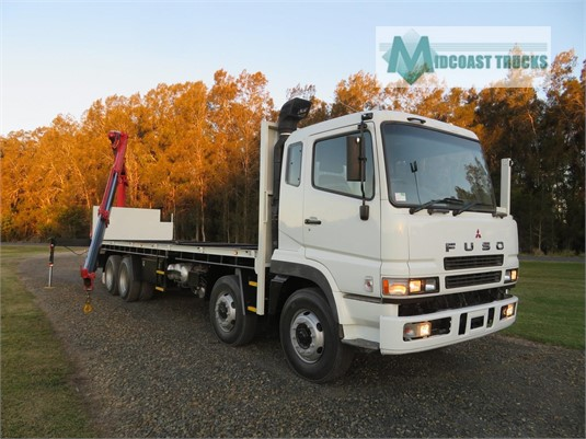2010 Fuso FS Heavy 8x4 Midcoast Trucks - Trucks for Sale
