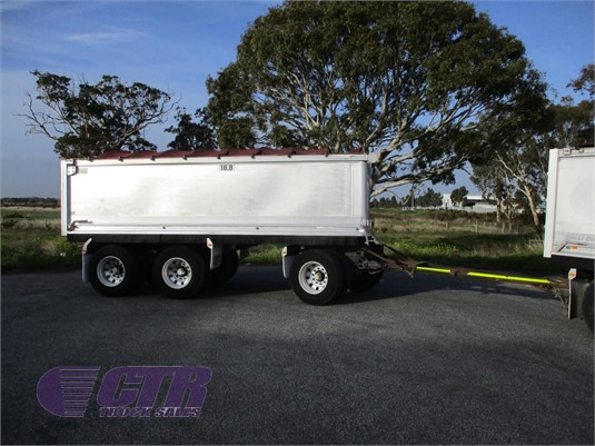 2002 Hercules Tipper Trailer CTR Truck Sales - Trailers for Sale