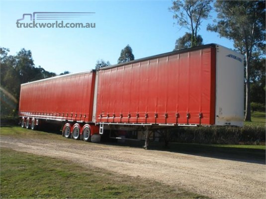2002 Maxitrans Curtainsider Trailer Steve Penfold Transport Pty Ltd  - Trailers for Sale