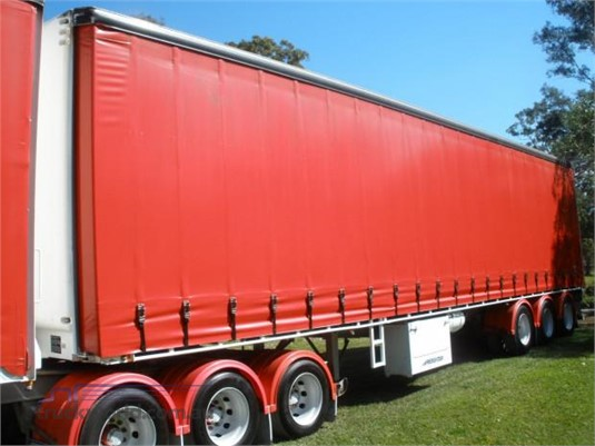 2002 Maxitrans Curtainsider Trailer Steve Penfold Transport Pty Ltd - Trailers for Sale