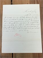 Deadwood, SD Historical Documents Collection Online Auction!