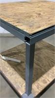 Custom Rolling Work Table-