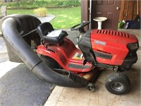 Craftsman Lawn Tractor With Grass Catcher