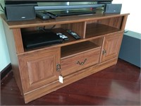 Flat Screen Television Cabinet With Doors And