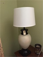Table Lamp With White Shade- Matches # 63