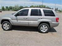 2001 JEEP GRAND CHEROKEE 301 491 KMS
