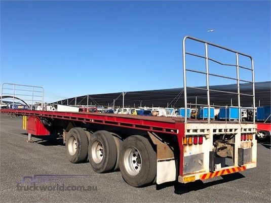 2010 Krueger Flat Top Trailer Trailers for Sale