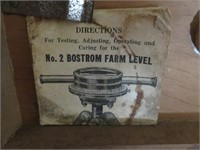 Antique Surveying Equipment with Tripod & Ruler