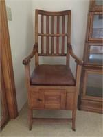 Chamber Pot Chair