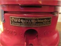 Ford Gumball Machine