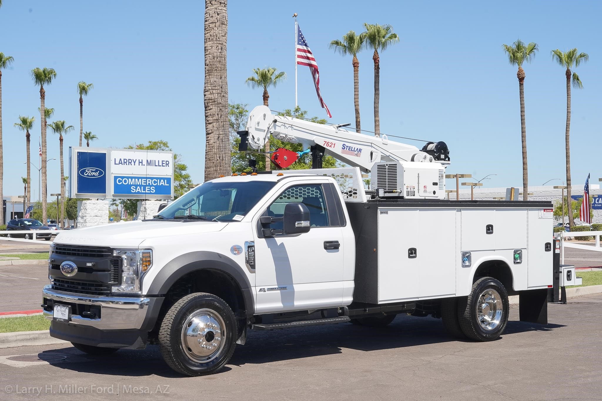 Ford F550 For Sale >> 2019 Stellar 7621 Mounted On 2019 Ford F550 For Sale In Mesa Arizona